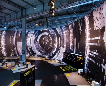 "Massive Visualizations at CeBIT Depict The Scale of ""Big Data"""