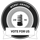 Visually Produced Causes Video Nominated for a Webby