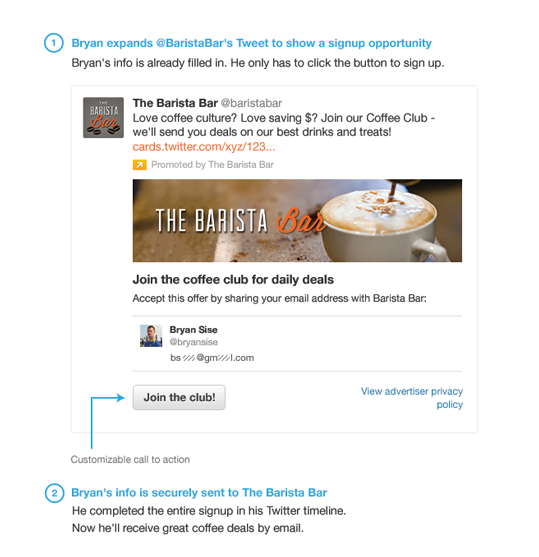The Barista Bar Twitter Card