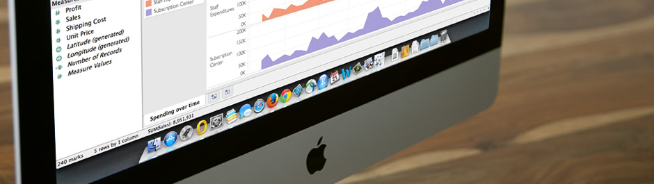 For Data Swamped Apple Users, Tableau Releases Mac Version