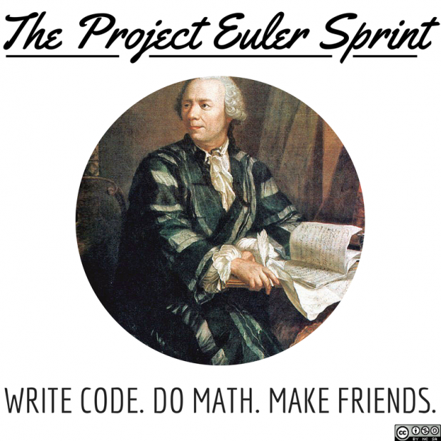 The Project Euler Sprint: Write Code, Do Math, Make Friends!