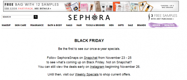 The Content Marketer's Guide To Black Friday