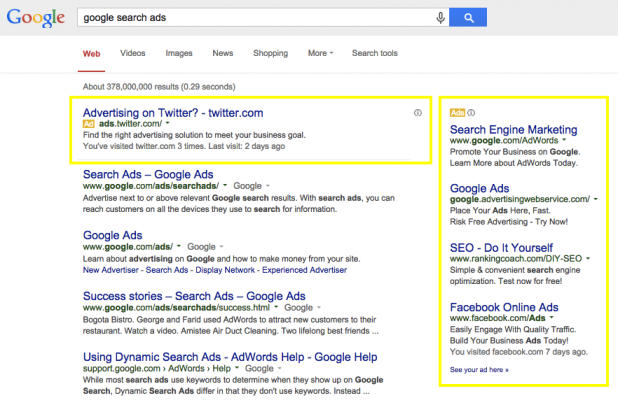 Yes, even Google Search is an example of native advertising