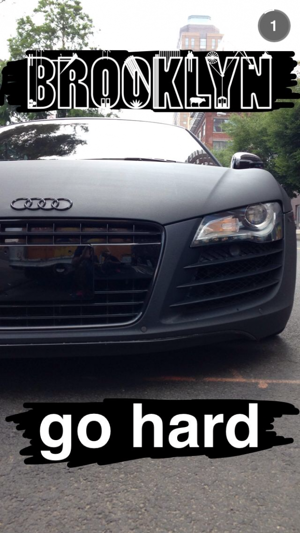 Audi On Snapchat_via Digiday