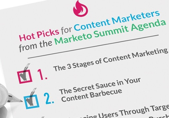 Hot Picks for Content Marketers from the Marketo Summit Agenda