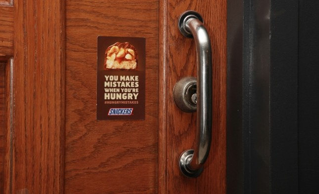 Snickers OOH Mistakes Campaign_Courtesy AdWeek AdFreak