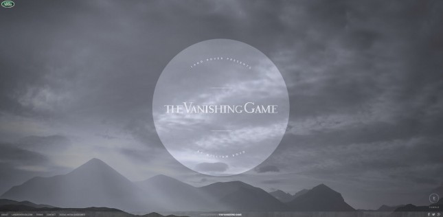 Land Rover_The Vanishing Game