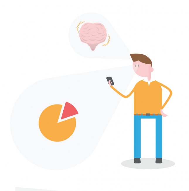 Visual content and the brain