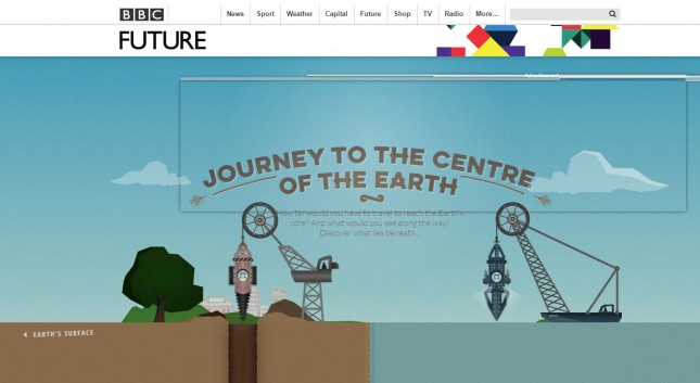 BBC Future_Journey to the Centre of the Earth