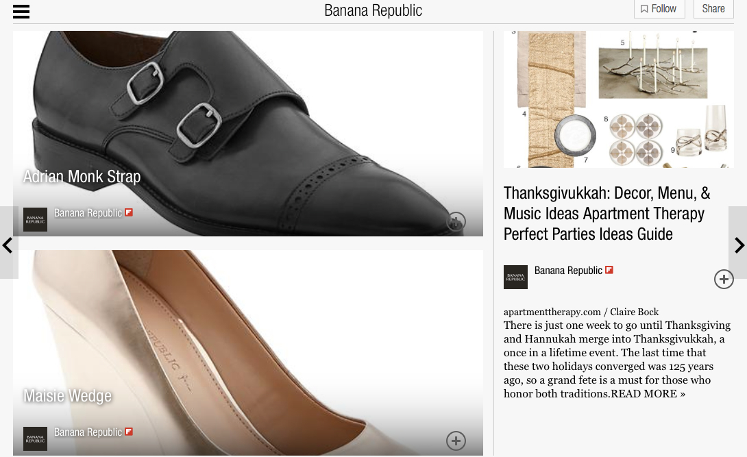 Banana Republic on Flipboard